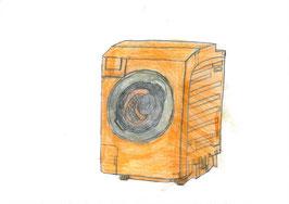 ドラム式洗濯乾燥機へのご寄付
