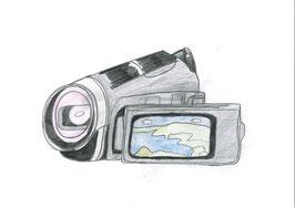 ビデオカメラ&三脚へのご寄付