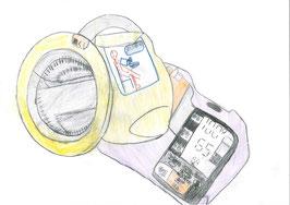 血圧計へのご寄付