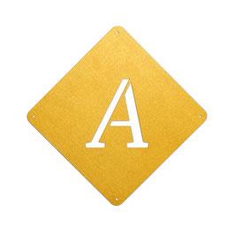 Einzelne Buchstaben, Zahlen & Zeichen zur Auswahl