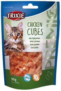 TRIXIE PREMIO Chicken Cubes, Glutenfrei, 50g (100g / 2,98€)