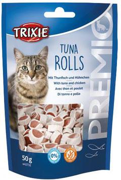 TRIXIE PREMIO Tuna Rolls, Glutenfrei, 50g (100g / 3,38€)