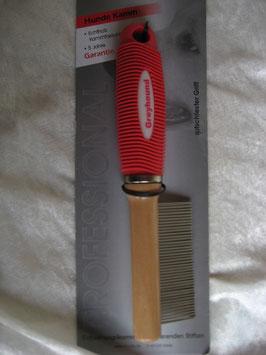 Entwirrungskamm mit rotierenden Stiften, fein, ca. 20cm