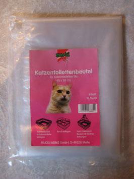 Katzentoilettenbeutel 10 Stück, für Katzentoiletten bis 48 x 38 cm