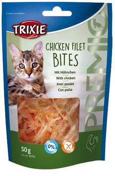 TRIXIE PREMIO Chicken Filet Bites, Glutenfrei, 50g (100g / 3,18€)