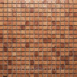 Мозаика ROSSO VERONA 15*15мм