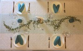 Tisch-Set Taufe für ca. 40 Personen