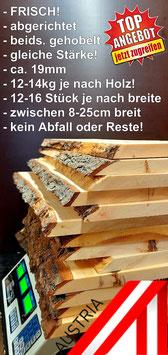 Zirbenholz zum Basteln, Schnitzen, Drechseln, Krippenbau, usw.