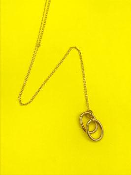 Collier Marina Double anneau