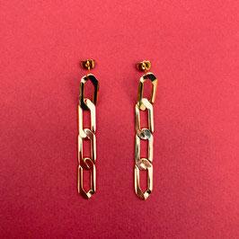 Boucles d'oreilles Gold Chain.