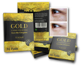 D. Schulz Cosmetics Golden EYE Pads
