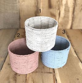 Seegrass Korb für Newborn in Farben
