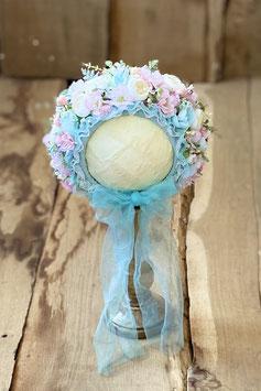 Nr.: 3 Flowerbonnet pastellig für Sitter