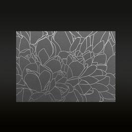 Lilymagnolia (silber/steingrau)