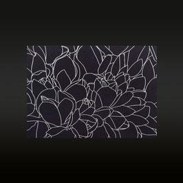 Lilymagnolia (silber/schwarz)