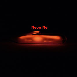 Neon gas ampoule  low pressure 99.9% (rarefied)