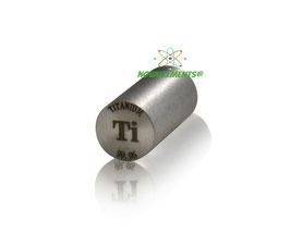 Titanium metal rod 99.95%  7 grams