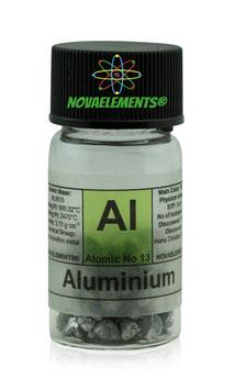 Aluminum metal granules 99.9% 5 grams