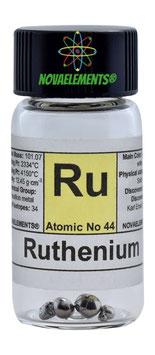 Ruthenium metal pellets 99.99%