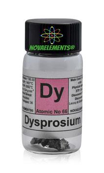 Dysprosium metal 1 gram 99.95%