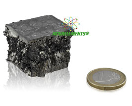 Gadolinium metal big chunk 97.43 grams 99.95% pure