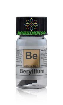 Beryllium metal 0.5 grams 99.9% pure