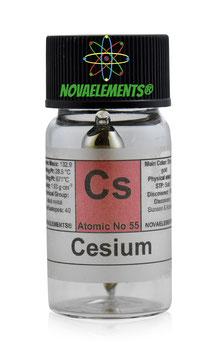 Cesium metal 0.20 grams 99.99% pure