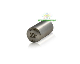 Zirconium metal rod 99.5% 10 grams