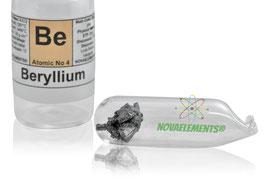 Beryllium metal 0.5 gram 99.9% argon sealed oxide free