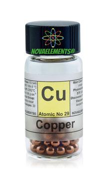 Copper metal pellets 99.99%