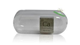 Calcium metal density cube 99% 10mm argon