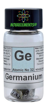 Germanium metal crystals 1 gram 99.999% pure