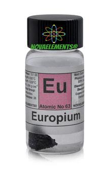 Europium metal piece 1 gram 99.99% pure
