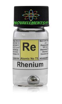 Rhenium metal 1 gram pellet 99.99%