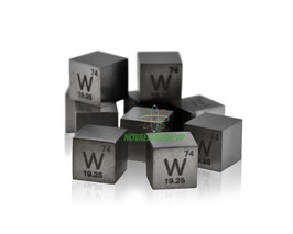 Tungsten metal density cube 99.99%