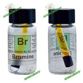 Bromine mini ampoule 1mL 99.9% pure