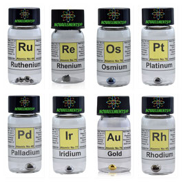 Complete Noble Metals Set