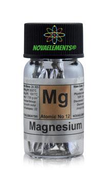 Magnesium metal shiny flakes 99.9% pure