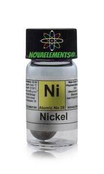 Nickel metal spheres 10 grams 99.99% pure
