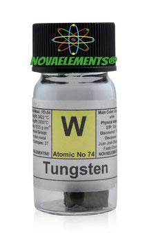 Tungsten metal 5 grams 99.99%
