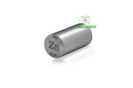 Zinc metal rod 99.95% 11 grams