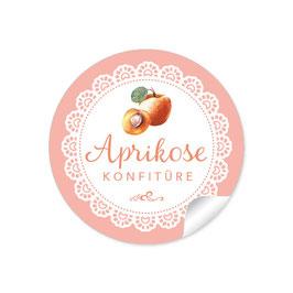 """""""Aprikose Konfitüre""""- Spitze - apricot"""