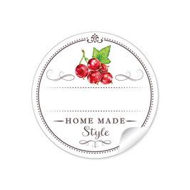 """Home Made Style""- Johannisbeere - weiß"