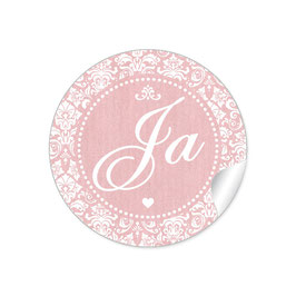 """""""Ja"""" - Shabby Chic Style - rosa"""
