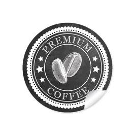 """""""Premium Coffee"""" -Kaffeebohne  schwarz"""