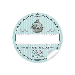 """Home Made Style""- Cupcake - mint"