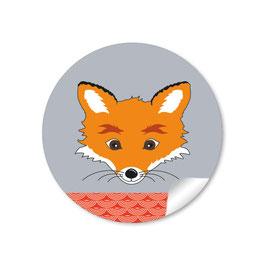 Fuchs -  orange grau