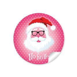 """Ho Ho Ho"" -  Hipster Nikolaus - pink"