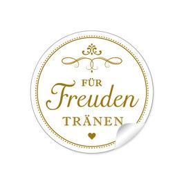 """""""Für Freudentränen"""" - Vintage Ornamente - goldgelb"""