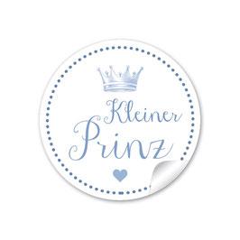 """""""Kleiner Prinz"""" - Krone - blau"""